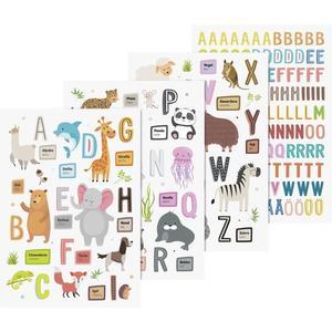 Heyda, Fenster Sticker, A4, 3 Bogen (ABC TIERE)