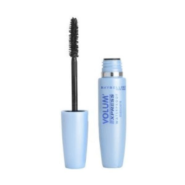 L'Oreal Maybelline, Mascara Volum Express Waterproof (SCHWARZ)