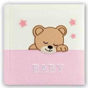 ZEP Elisa pink 24x24 20 Seiten Babyalbum DL2420PK