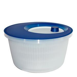 Salatschleuder Basic 4l transluzent blau/weiß (505088)
