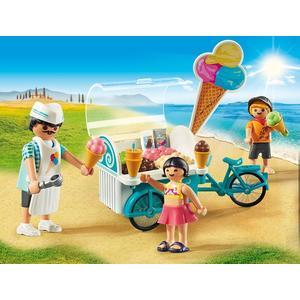 Playmobil, Fahrrad Mit Eiswagen 9426