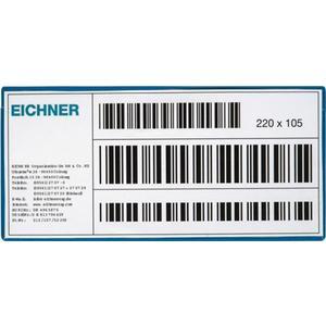 Multipack EICHNER Etikettentasche B220xH105mm magnetisch 10St./Pack