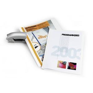DURABLE Sichthefter A4 Durabind 30 Blatt weiß (225002)