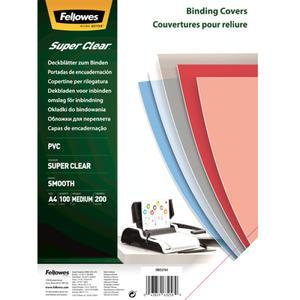 Fellowes Deckblatt A4 superclear 200 Mikron