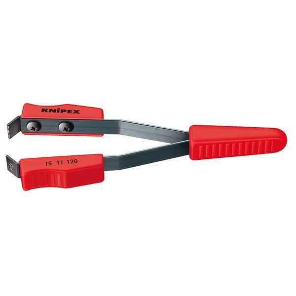 KNIPEX Lackabziehpinzette Gesamtlänge 120 mm Abisolierwerte 0,6 mm²