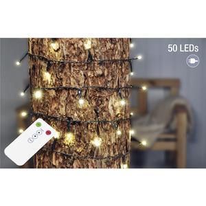 HI LED Lichterkette m.50 LED u.FB