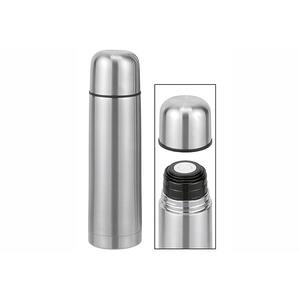 Isolierflasche doppelwandig 1 l Edelstahl (26025)