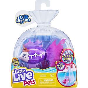 Moose 26160 Little Live Pets Seaqueen, Lil Dipper, interaktiver Fisch