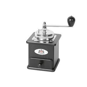 ZASSENHAUS Kaffeemühle Brasilia schwarz 160x160x230mm (40166)