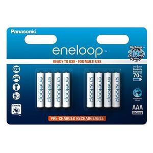 Panasonic Eneloop batteries AAA 8er Blister