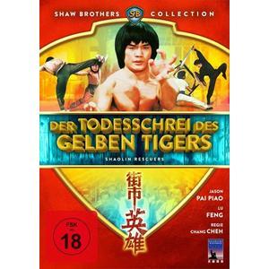 Der Todesschrei des gelben Tigers - Shaolin Rescuers (Shaw Brothers Collection) (DVD)