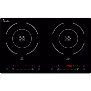cook 420 Doppelinduktionskochplatte 3400W 4,5cm hoch schwarz