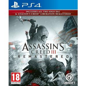 Assassin 's Creed 3 Remastered (PS4)