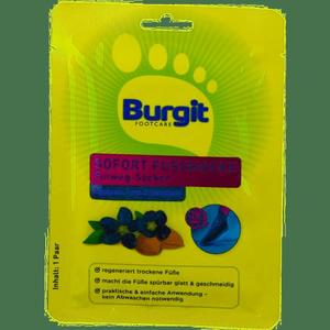 Burgit, Fussmaske Einweg Socken, 1 Paar