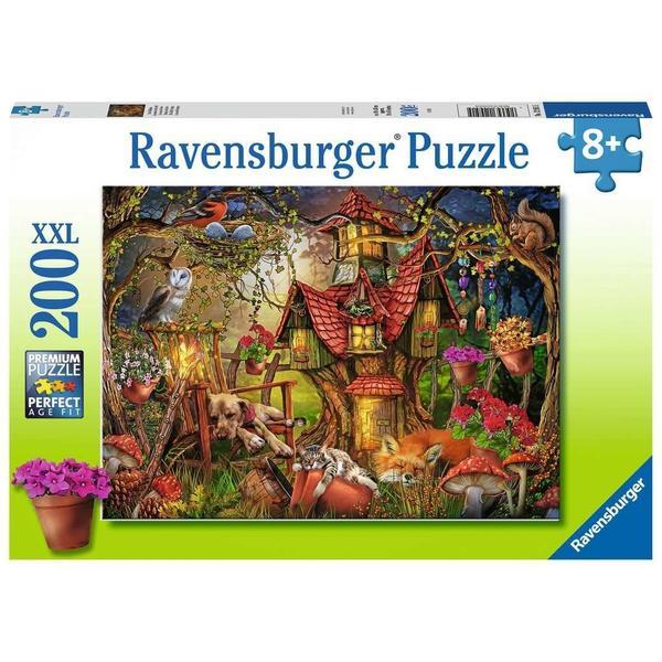 "Ravensburger Kinderpuzzle ""Das Waldhaus"" 200 Teile ab 8 Jahre Puzzle von Ravensburger"