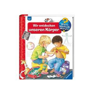 """Ravensburger """"Wir entdecken unseren Körper"""" Doris Rübel Wieso? Weshalb? Warum?Kinderbücher ab 4 Jahre Ravensburger Buchverlag"""