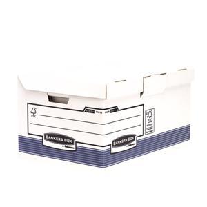 Fellowes A4 System Klappdeckelbox Maxi-blau 31x39x56cm (1141501)