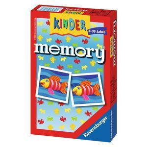 """Ravensburger Mitbringspiele """"Kinder memory®"""" 4 - 99 Jahre Gedächnistraining Spiele von Ravenburger"""