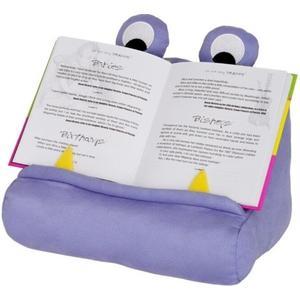 Bookchair Bookmonster Lesekissen violett