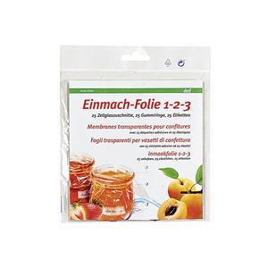 deti Einmach-Folie 1-2-3 25er Pack ()