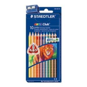 STAEDTLER Farbstift NC jumbo Set (128 NC10)