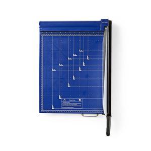 Nedis Papierschneidemaschine / max. Schnittgröße: 297 x 420 mm / Typ Messer: Metall / Metall / Blau/Schwarz