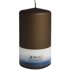 Jeka Kerzen Stumpen Velvet 70x150mm (BRAUN)