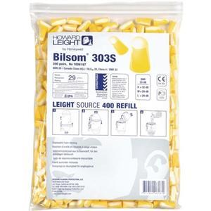 HONEYWELL Gehörschutzstöpsel Bilsom 303S EN 352-2 SNR 33 dB Nachfüllpack 200 Paar / Pack, Gr. S