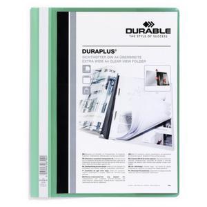 DURABLE Angebotshefter Duraplus Sichttasche grün (257905)