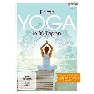 Fit mit Yoga in 30 Tagen (3 DVDs)