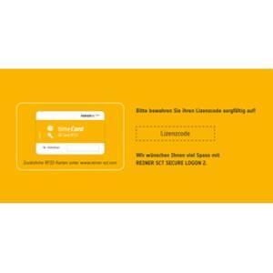 REINER KARTENGERÄTE REINERSCT SECURE LOGON 2 Lizenz mit RFID Karte fuer 1 Nutzer (2749410-100)