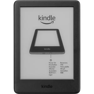 Amazon Kindle 6 2020 incl. Frontlight 8GB Black w/SO (B07FQ4DJ7X)