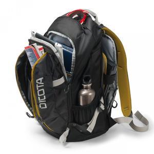DICOTA Backpack Active 39,6cm 14-15,6Zoll black/yellow (D31048)