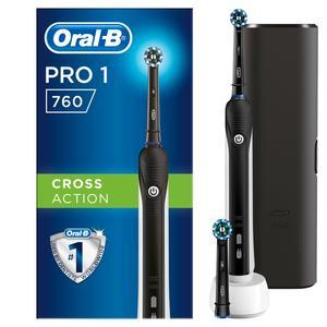Oral-B Pro 760 mit Reise-Etui Elektrische Zahnbürste
