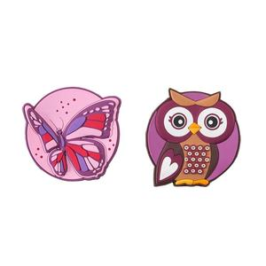 Schneiders Patches Girls Accessories Butterfly+Olivia Owl (49002-208)