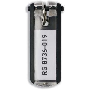 Schlüsselanhänger Key Clip schwarz Kunststoff
