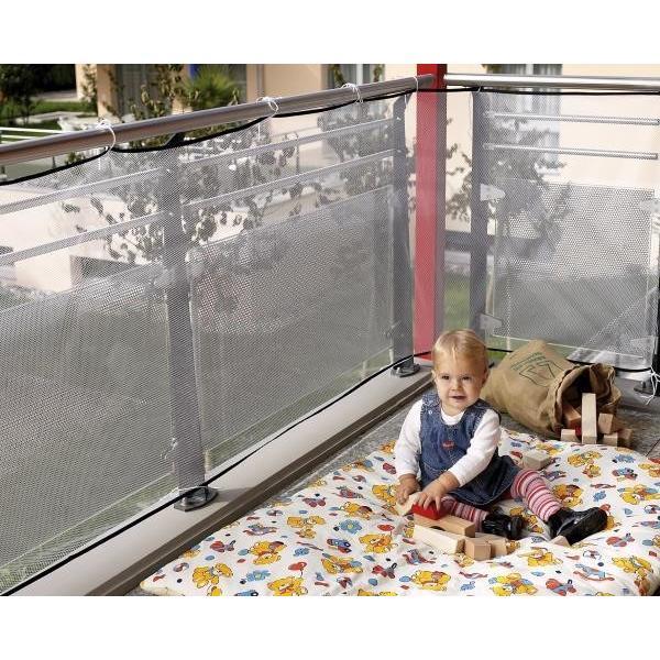 Multipack reer Balkon-Schutznetz 90x300 (71743) - 6 Stück