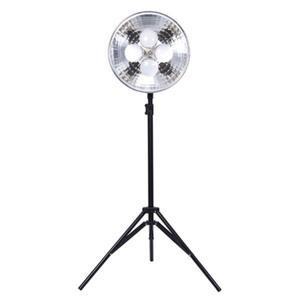 Dörr DL-400 Dauerlicht mit 4x 25W LED-Birnen 2er- SET