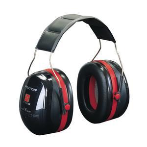 3M Gehörschutz OPTIME III EN 352-1-3 SNR 35 dB gepolsterter Kopfbügel doppelschalige Kapseln