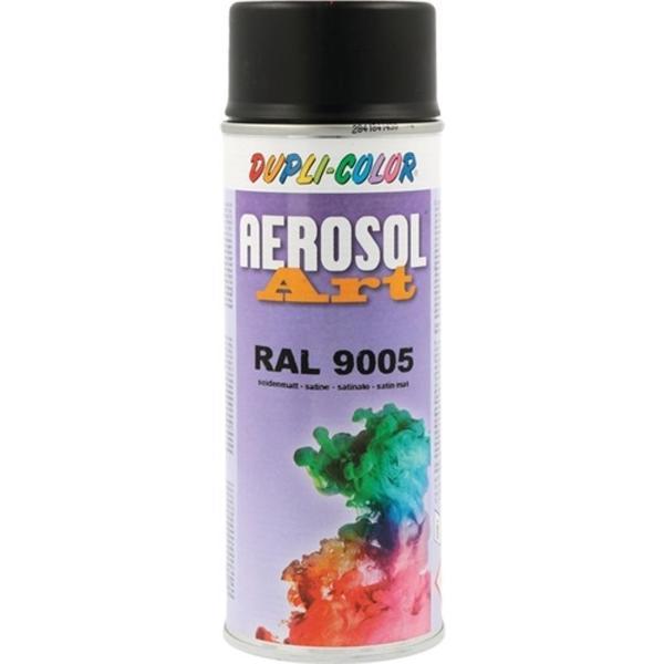 DUPLI-COLOR Buntlackspray AEROSOL Art tiefschwarz seidenmatt RAL 9005 400 ml