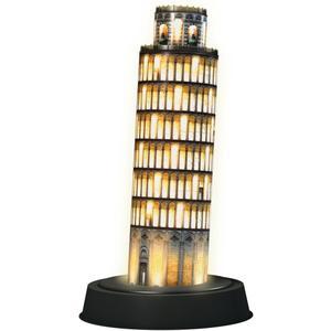 """Ravensburger 3D Puzzle-Bauwerke """"Schiefer Turm von Pisa bei Nacht"""" 216 8 - 99 Jahre 3D Puzzle von Ravensburger"""