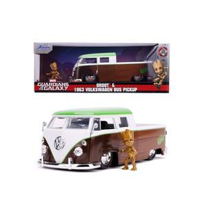 Jada Marvel Groot 1963 Bus Pickup 1:24
