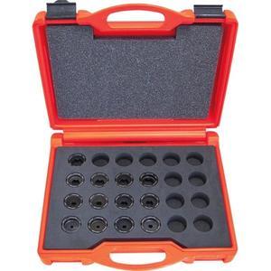 Intercable Presseinsatzset 6-300 mm² für R-Serie im Kunststoffkoffer 14-teilig