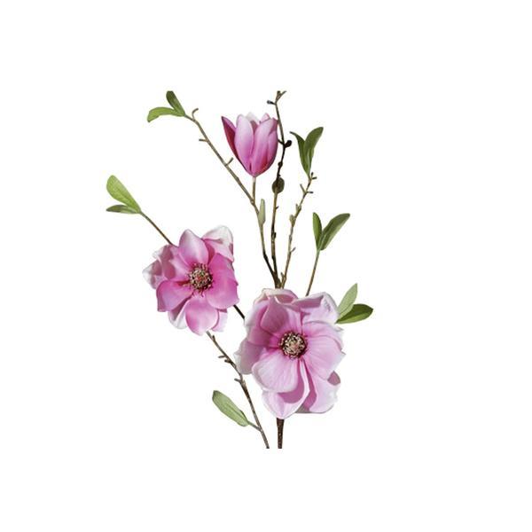 Multipack Magnolienzweig 90cm weiß/rosa - 6 Stück