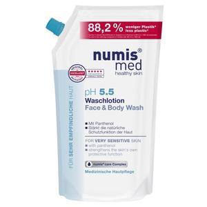 Numis Med, Waschlotion Nachfüllbeutel, ph 5.5, 1000 ml