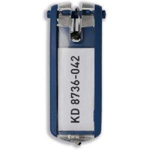 Schlüsselanhänger Key Clip dunkelblau Kunststoff