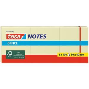 tesa Office Notes 3 x 100 Blatt 50 x 40mm gelb (57653-00001-05)