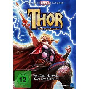 Thor - Tales of Asgard Marvel (DVD)