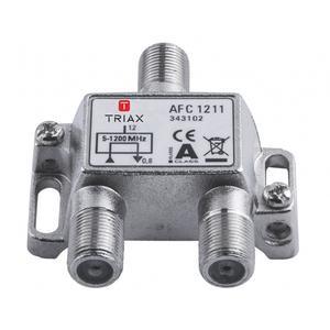 Triax Sat Abzweiger 1-fach 12dB 1,2 GHz