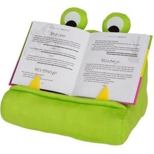 Bookchair Bookmonster Lesekissen grün